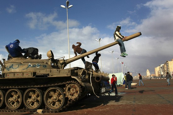 THE UPRISING AND CIVIL WAR libya